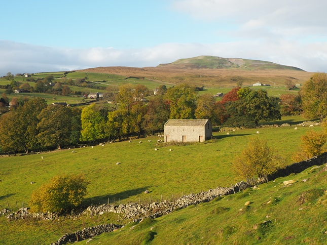 Calver Hill from near High Fremington