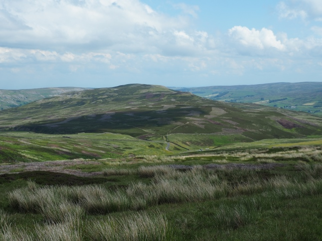 Calver Hill from Reeth High Moor