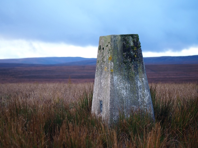 The Collinsons Hill trig point