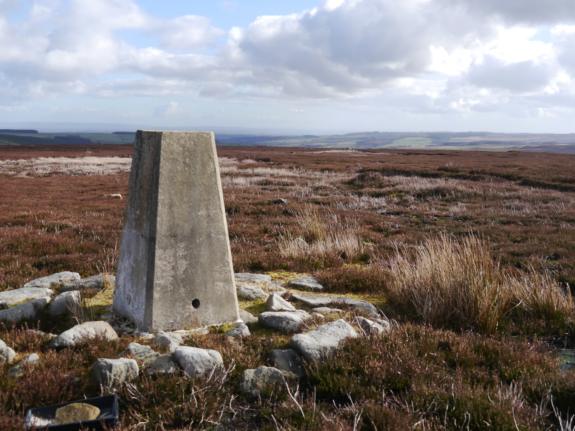 Colsterdale Moor Trig Point