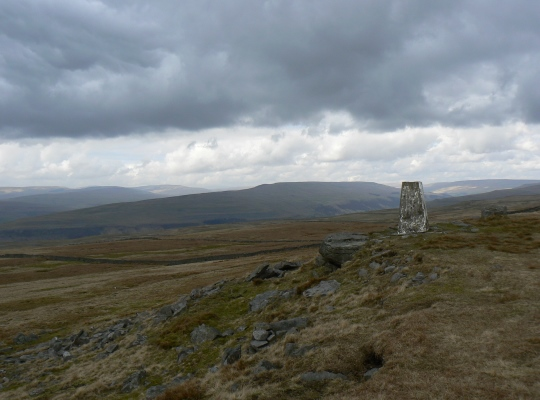 The Conistone Moor Trig Point