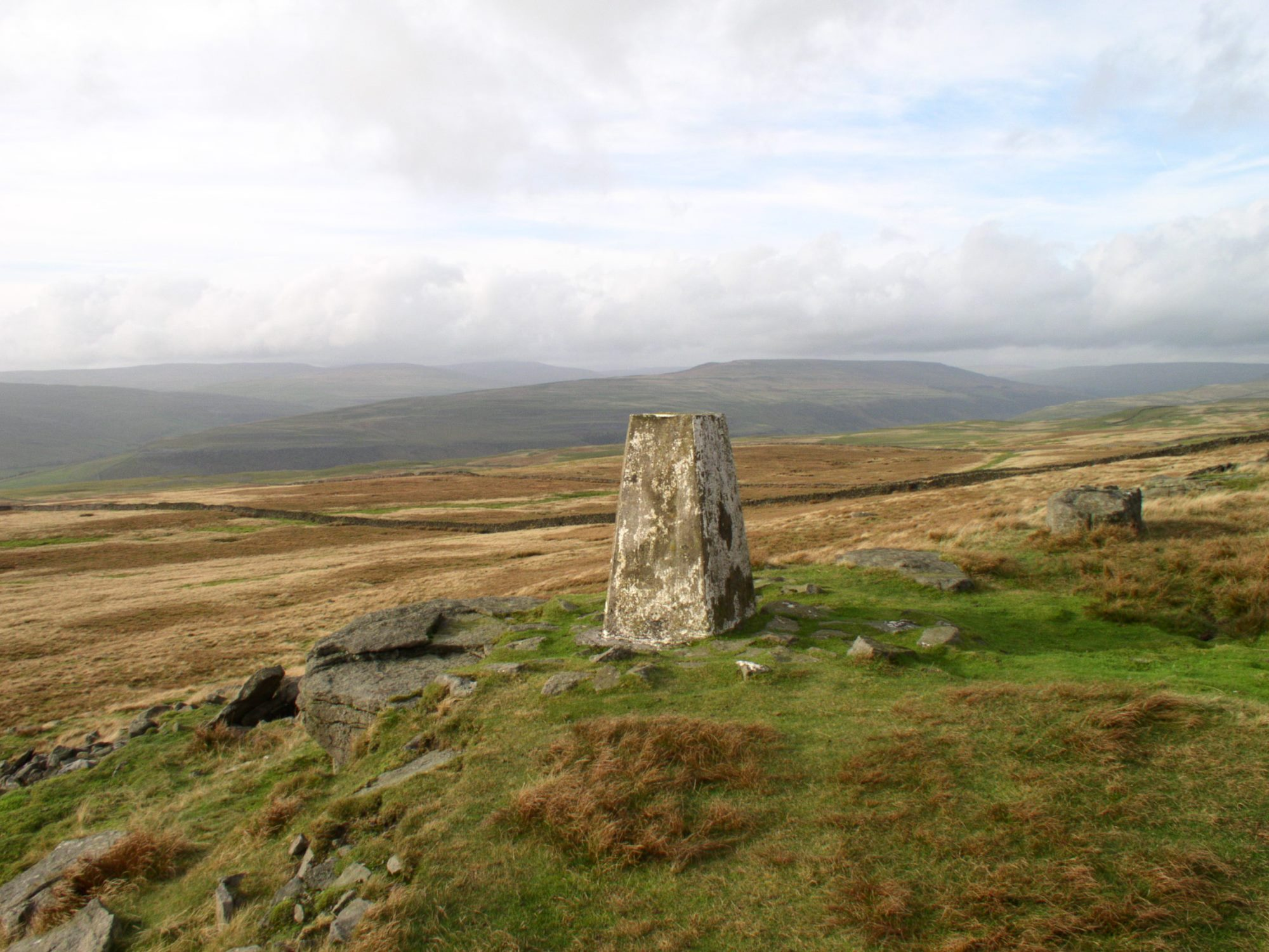 Conistone Moor Trig Point