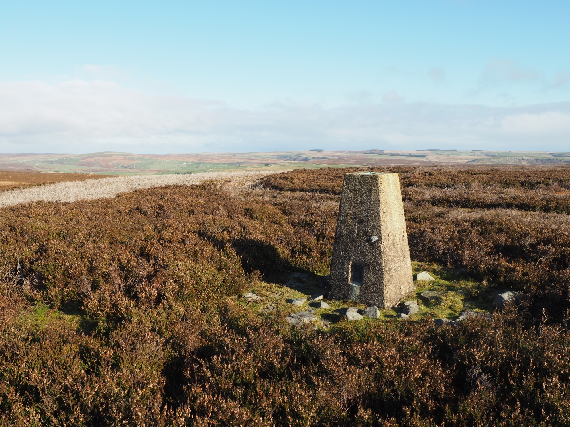 Copperthwaite Moor Trig Point