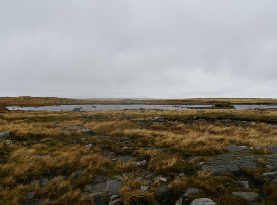 Approaching one of the Eastast Tarns