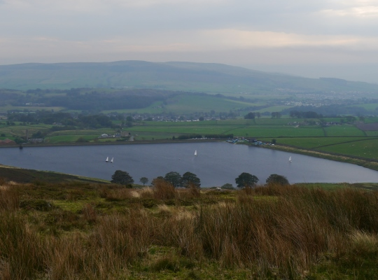 Craven Sailing Club enjoying a day out on Embsay Reservoir