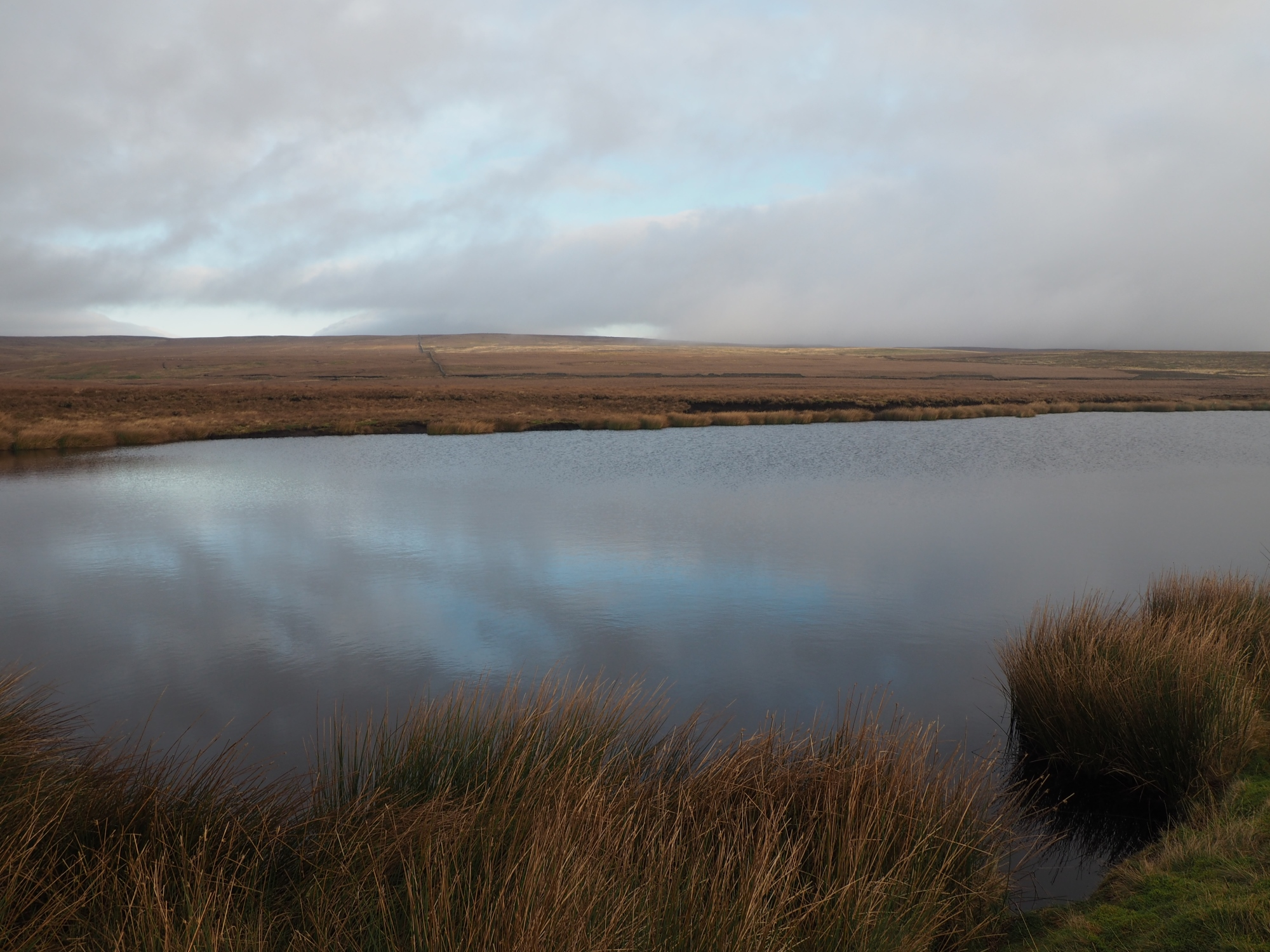 One of the Grassington Moor reservoirs