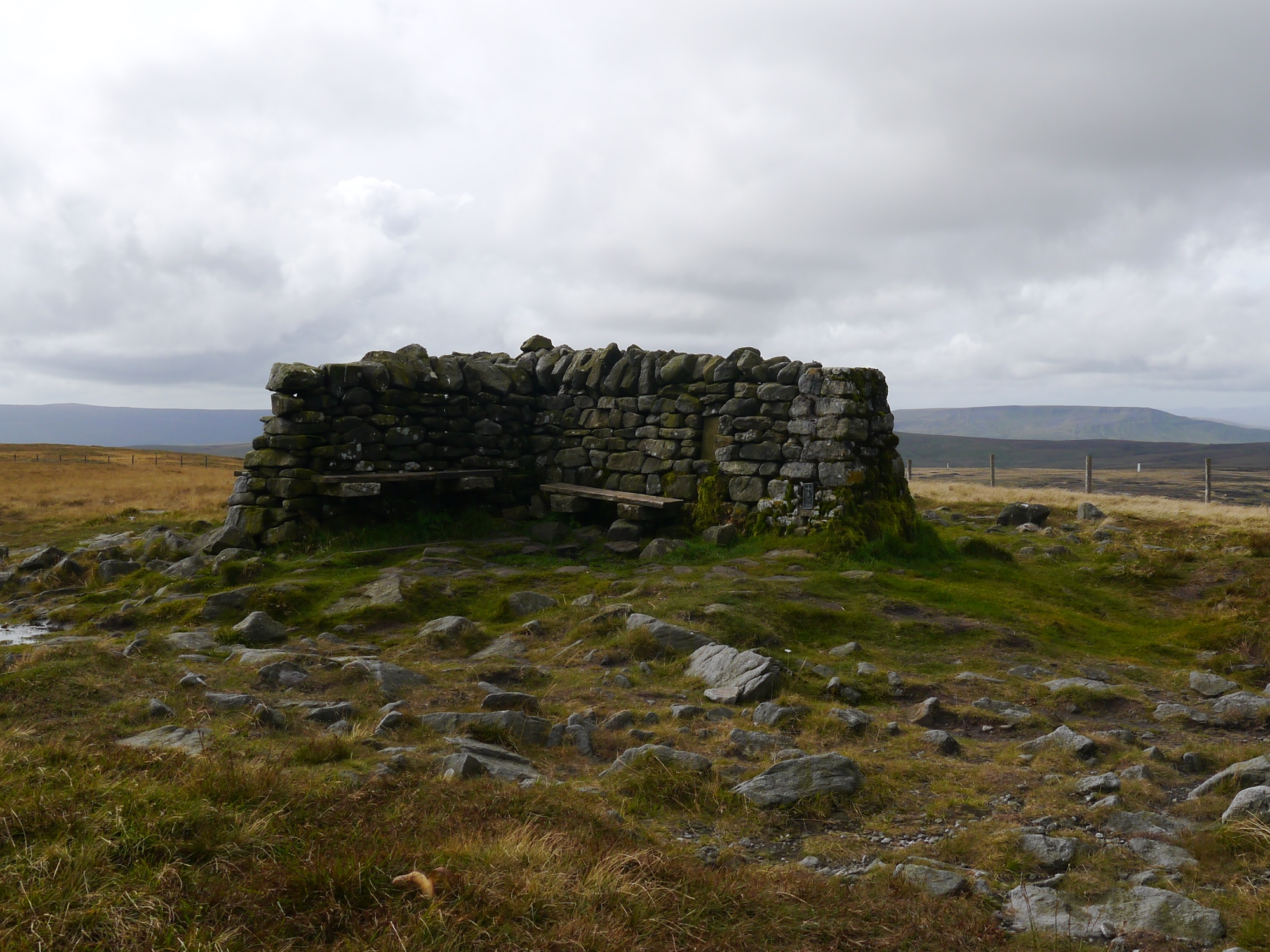 Great Shunner Fell Trig Point