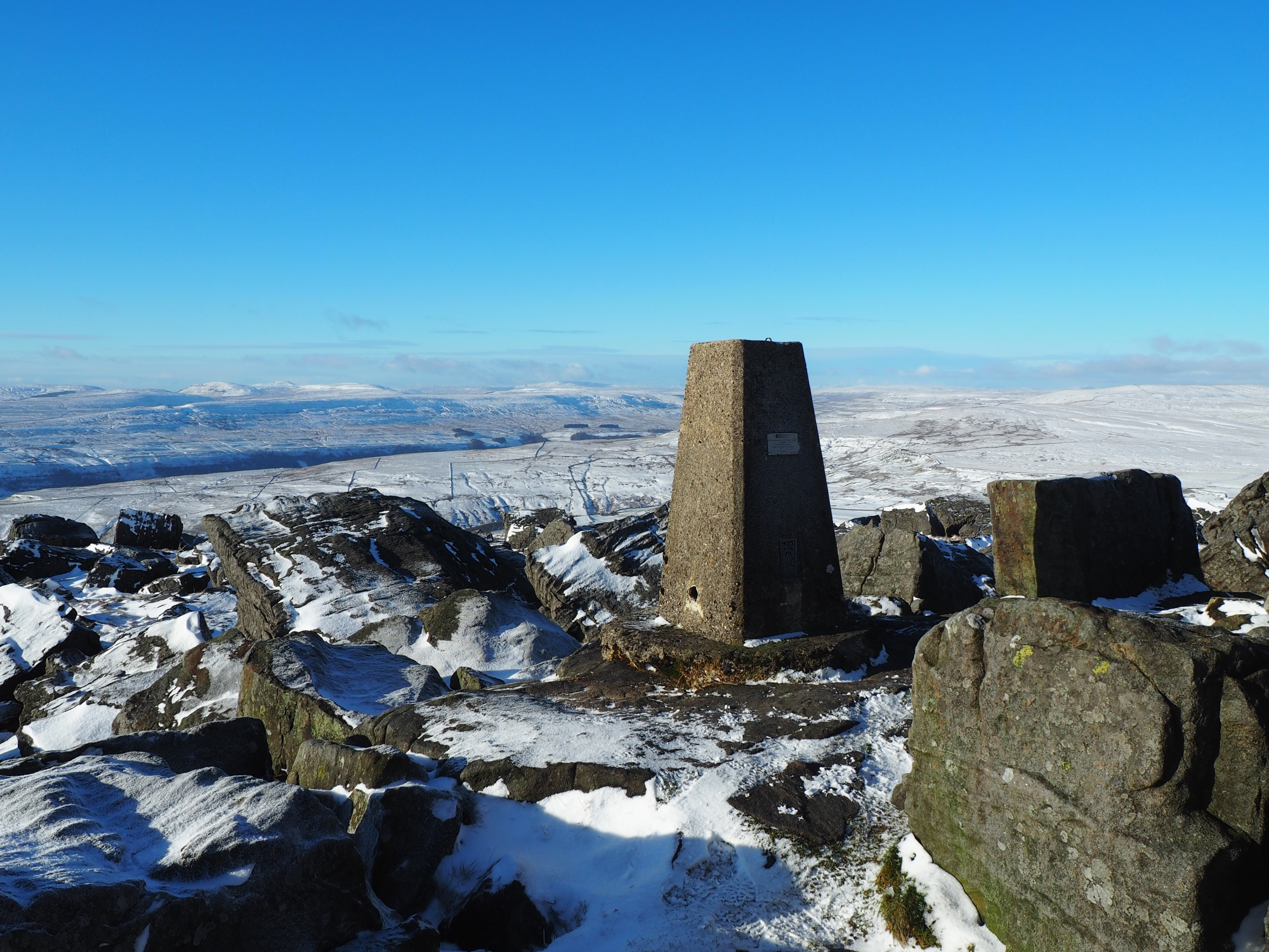 Great Whernside trig point