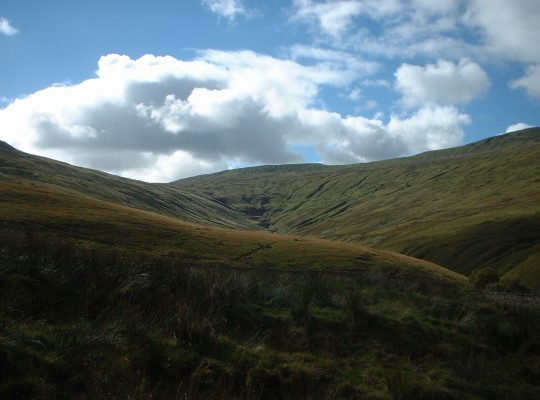 Green Hill and Gastack Beck