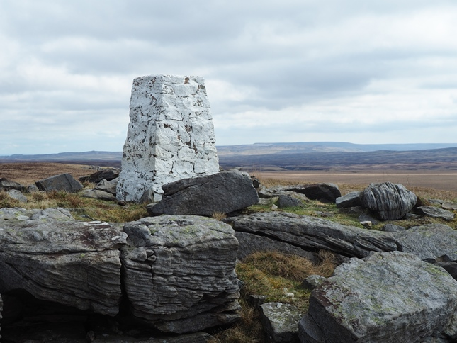 The Grey Grit trig point