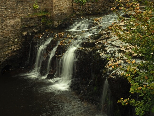 Another view of Hawes Falls