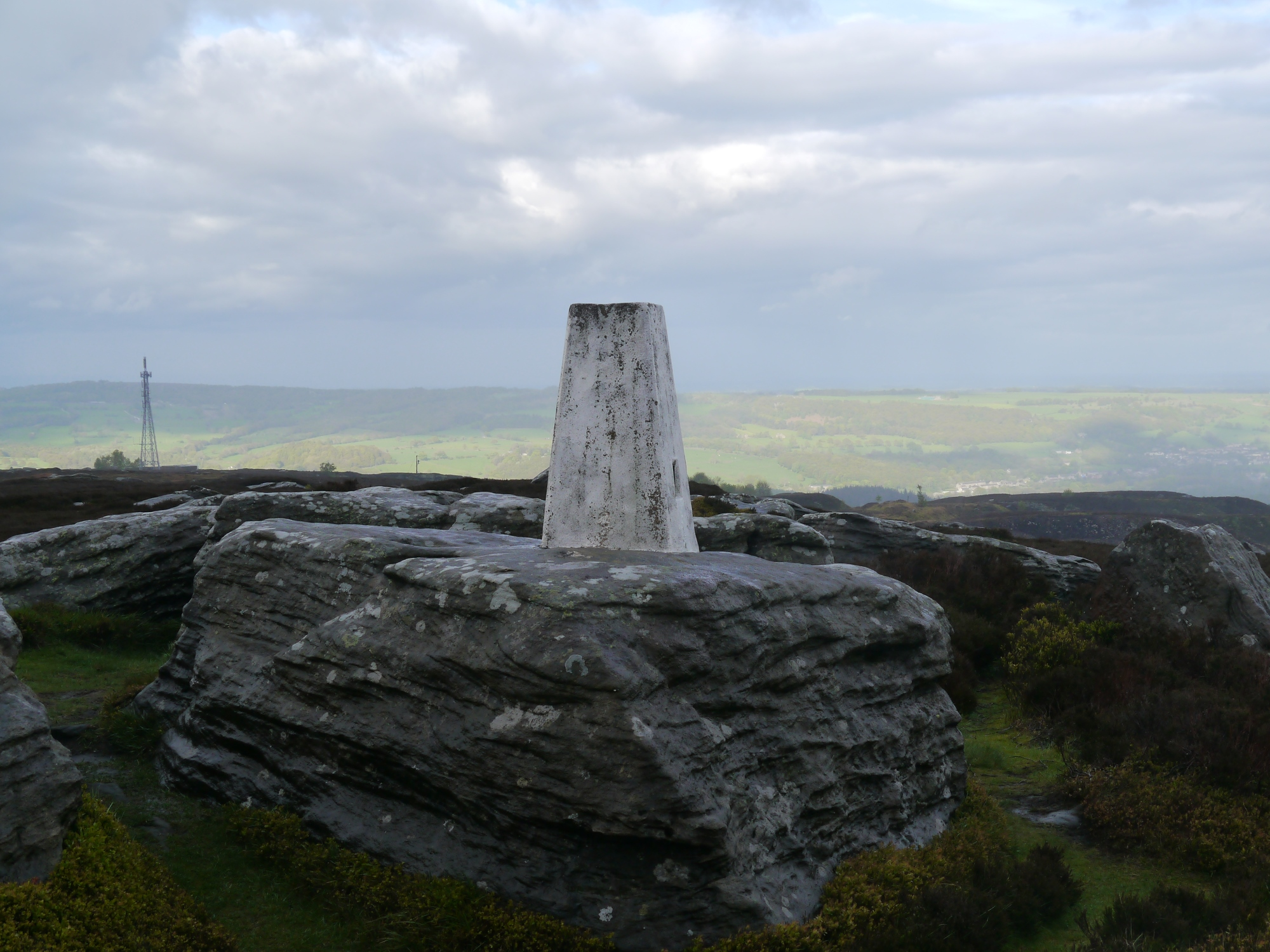 Heyshaw Moor Trig Point