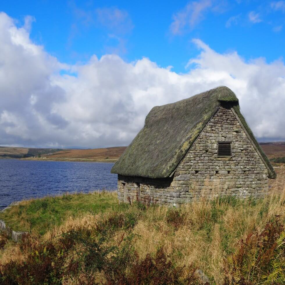 High Laithe and Grimwith Reservoir