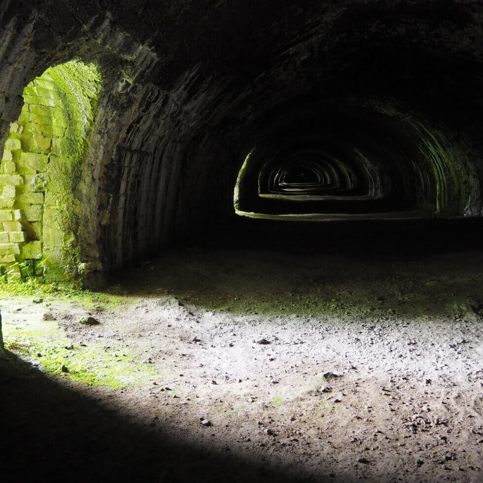 The Hoffmann Kiln near Stainforth, Ribblesdale