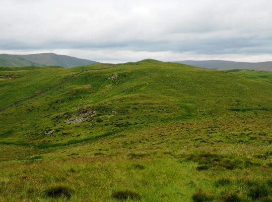 Approaching Hoggs Hill from Barbon Low Fell