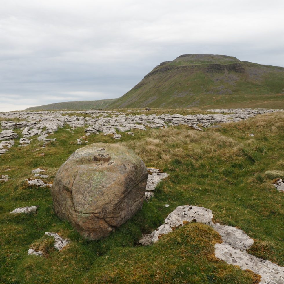 Ingleborough from White Scars