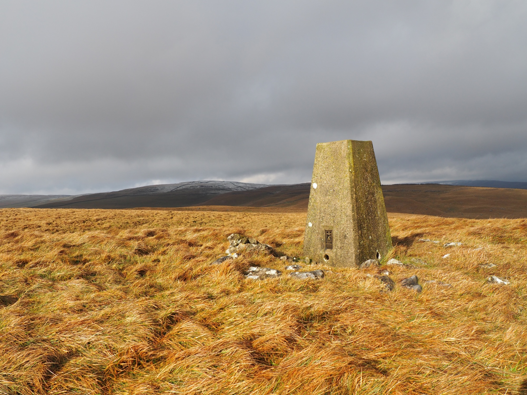 Kilnsey Moor Trig Point