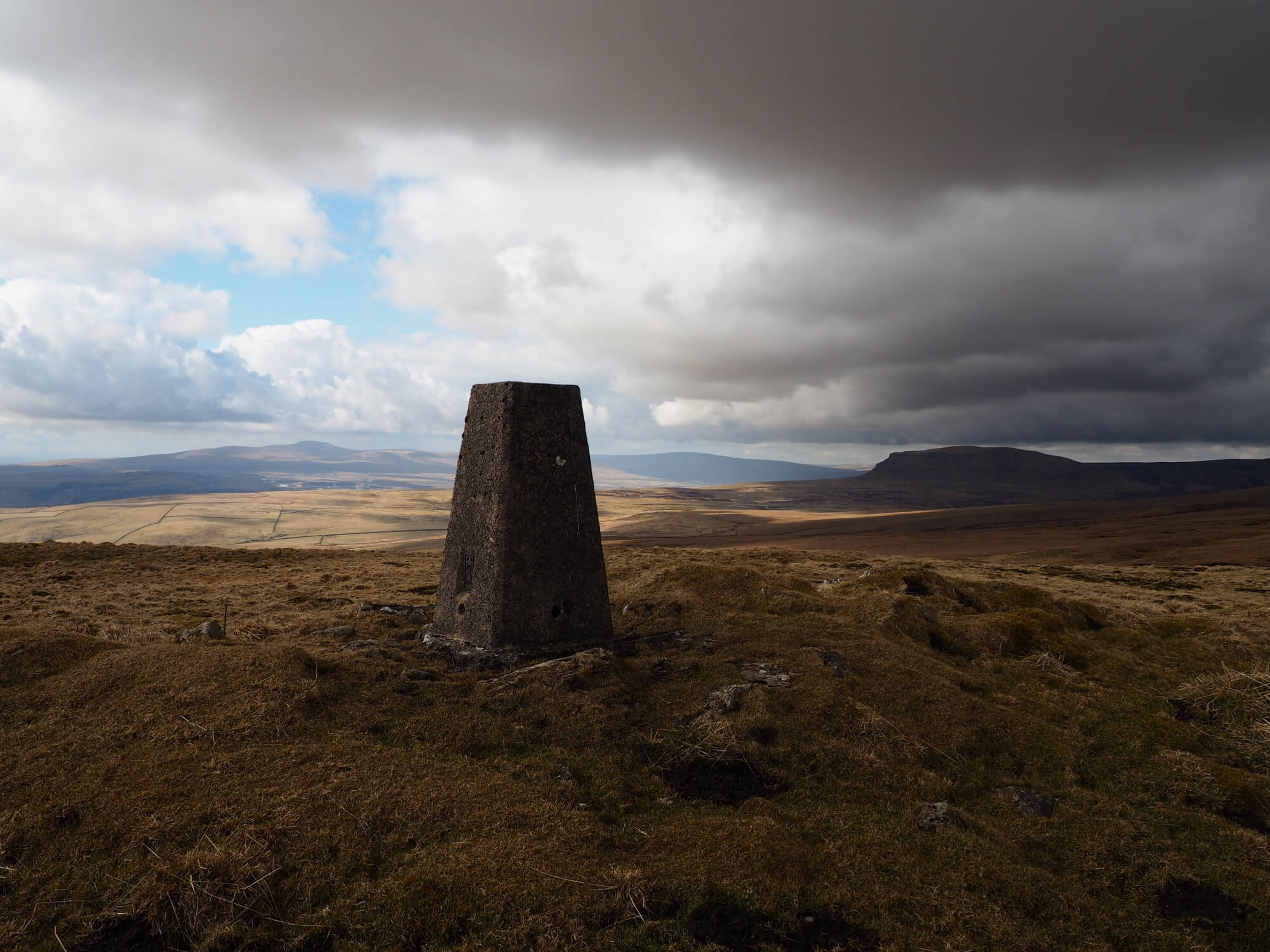 The Knowe Fell Trig Point