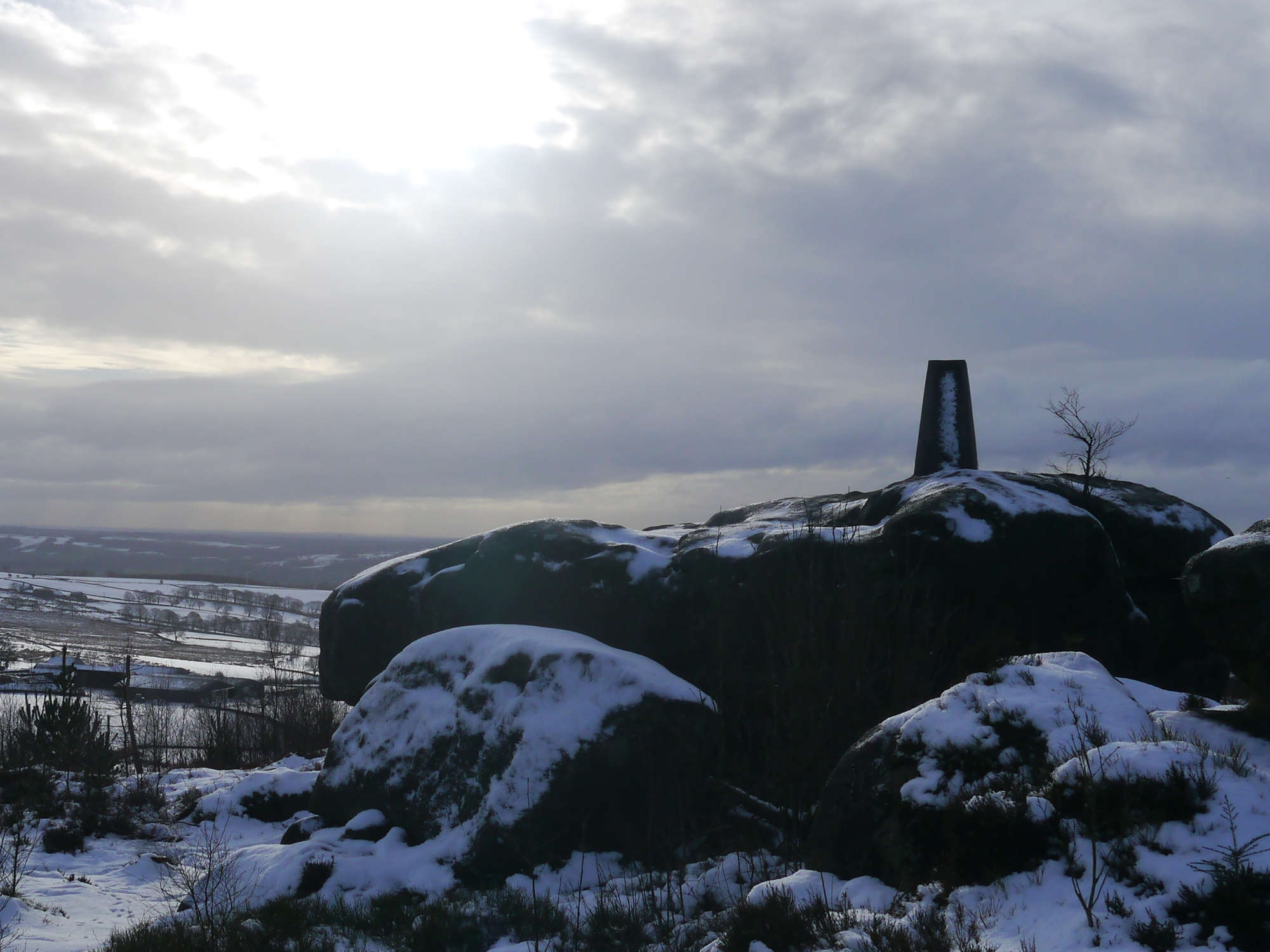 Lindley Moor Trig Point