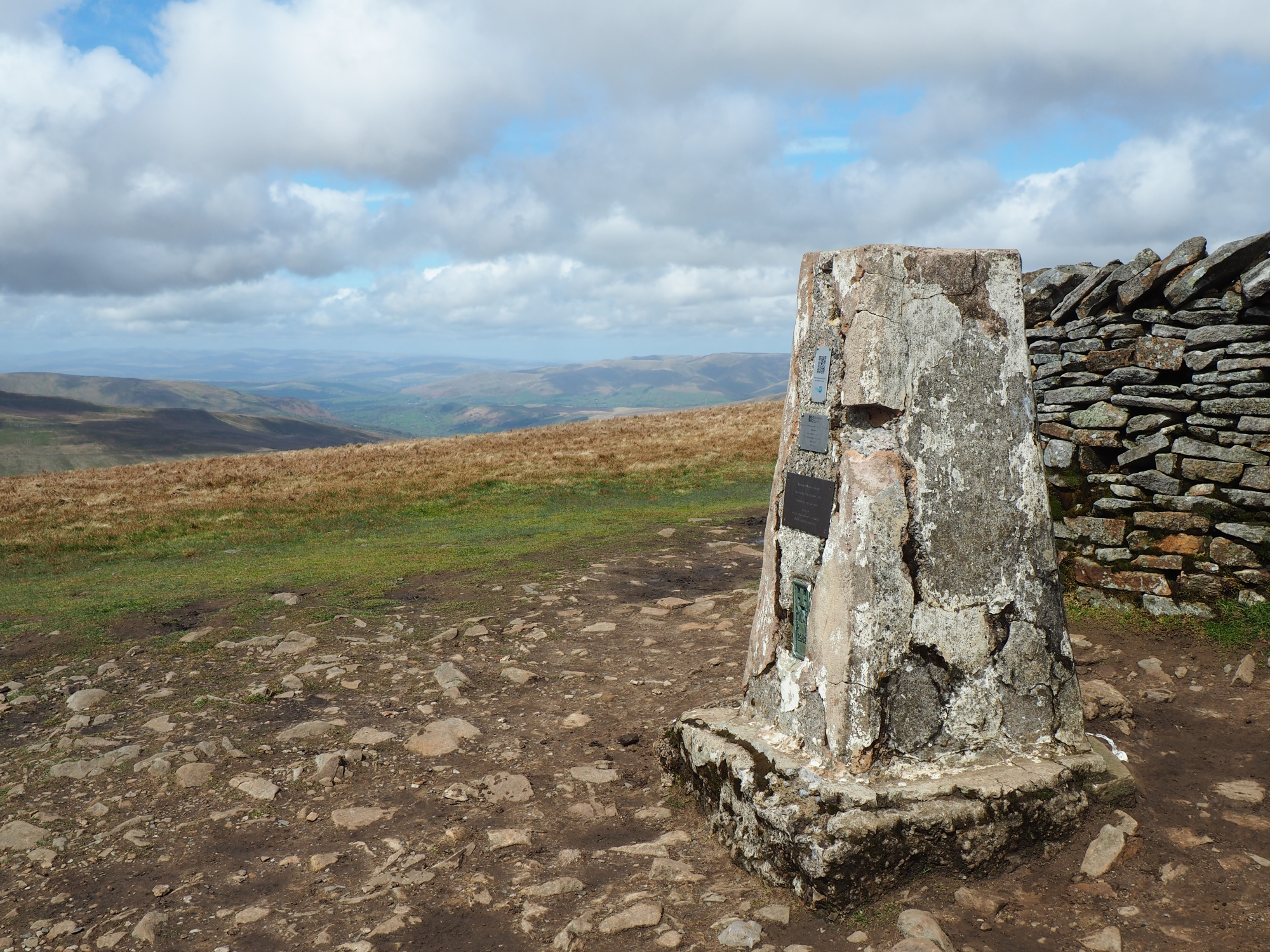 Little Whernside Trig Point