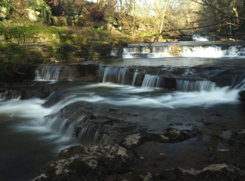 The small falls between Lofthouse and Nidd Falls