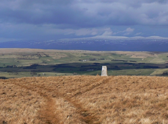 Cross Fell from the Middleton trig point