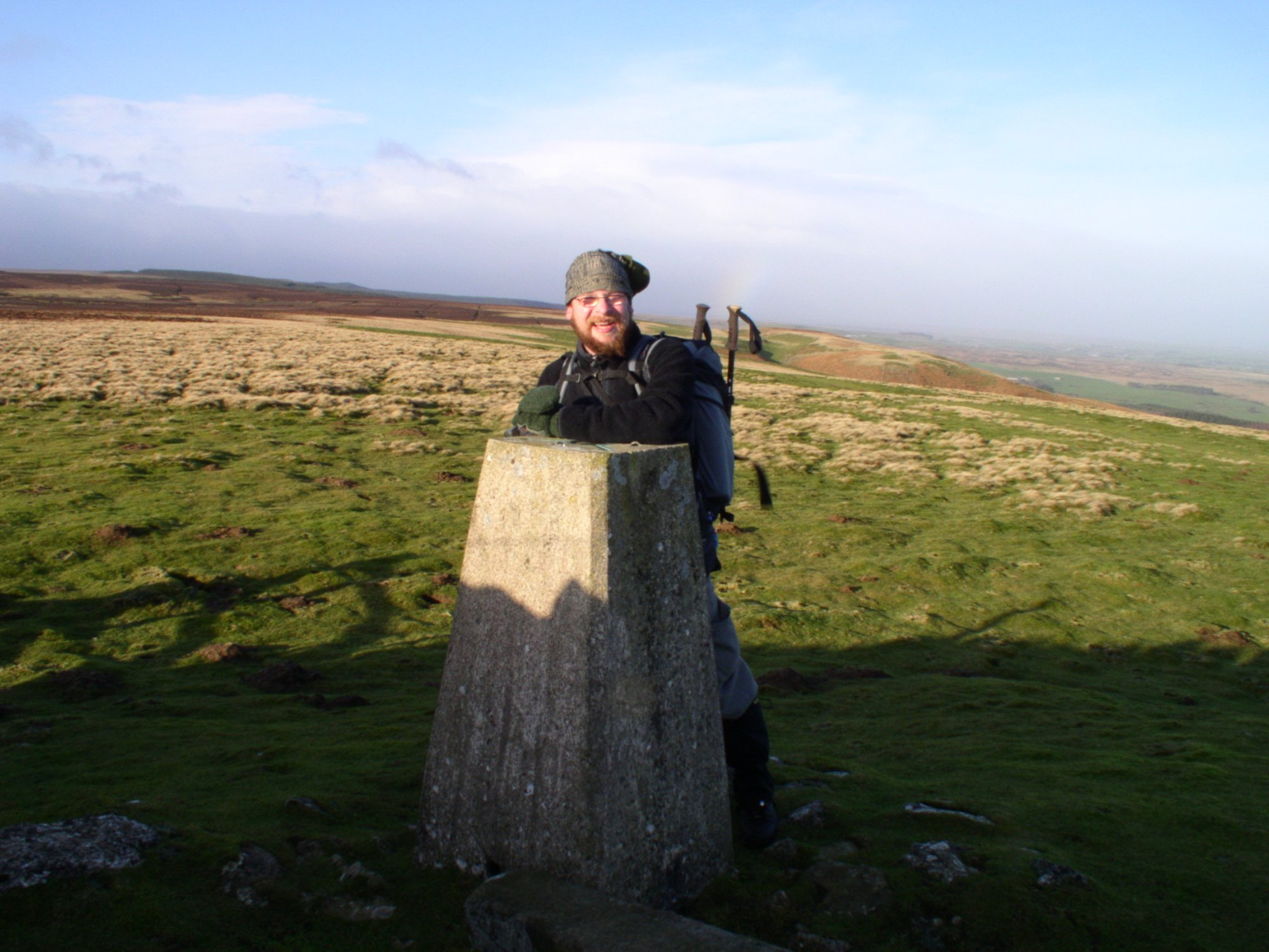 Newsham Moor trig point