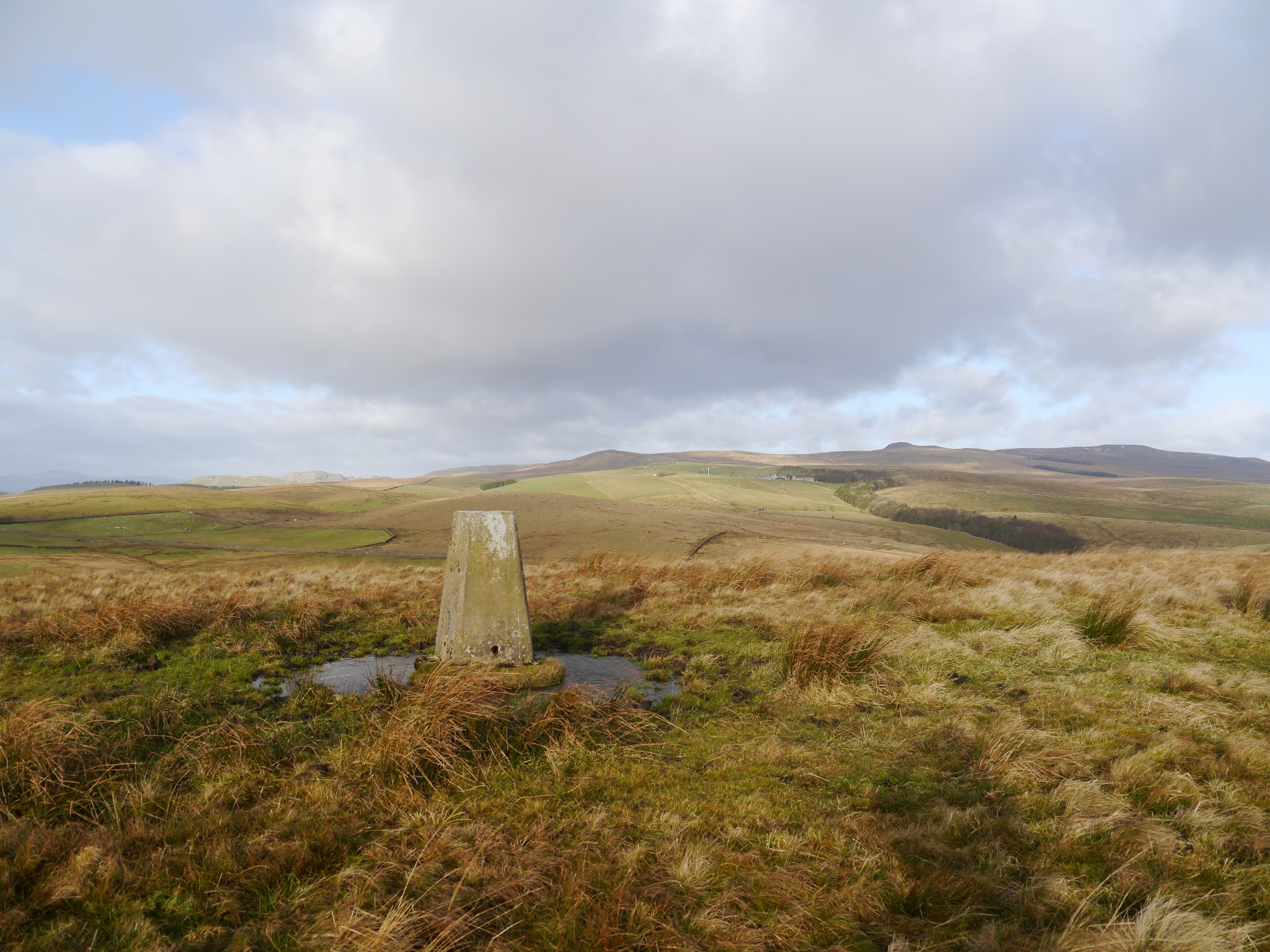Newton Moor Trig Point