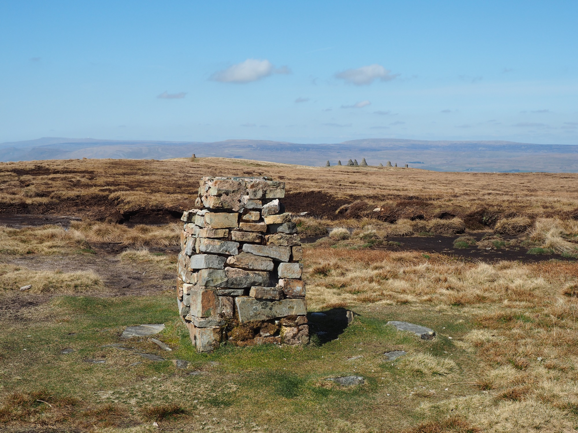 Nine Standards Rigg trig point