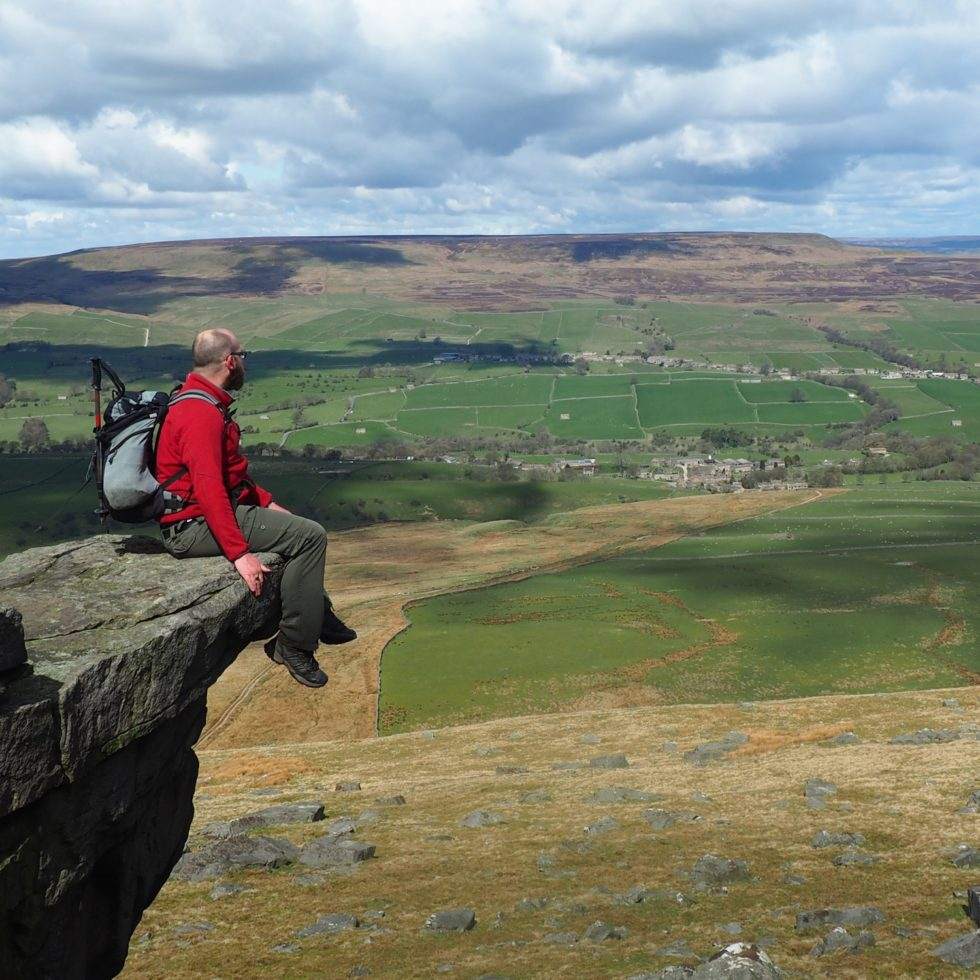 On Great Roova Crags
