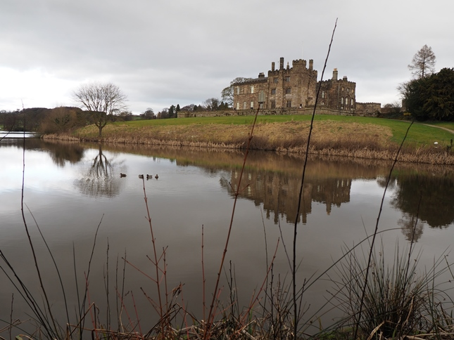 Ripley Castle and the lower lake