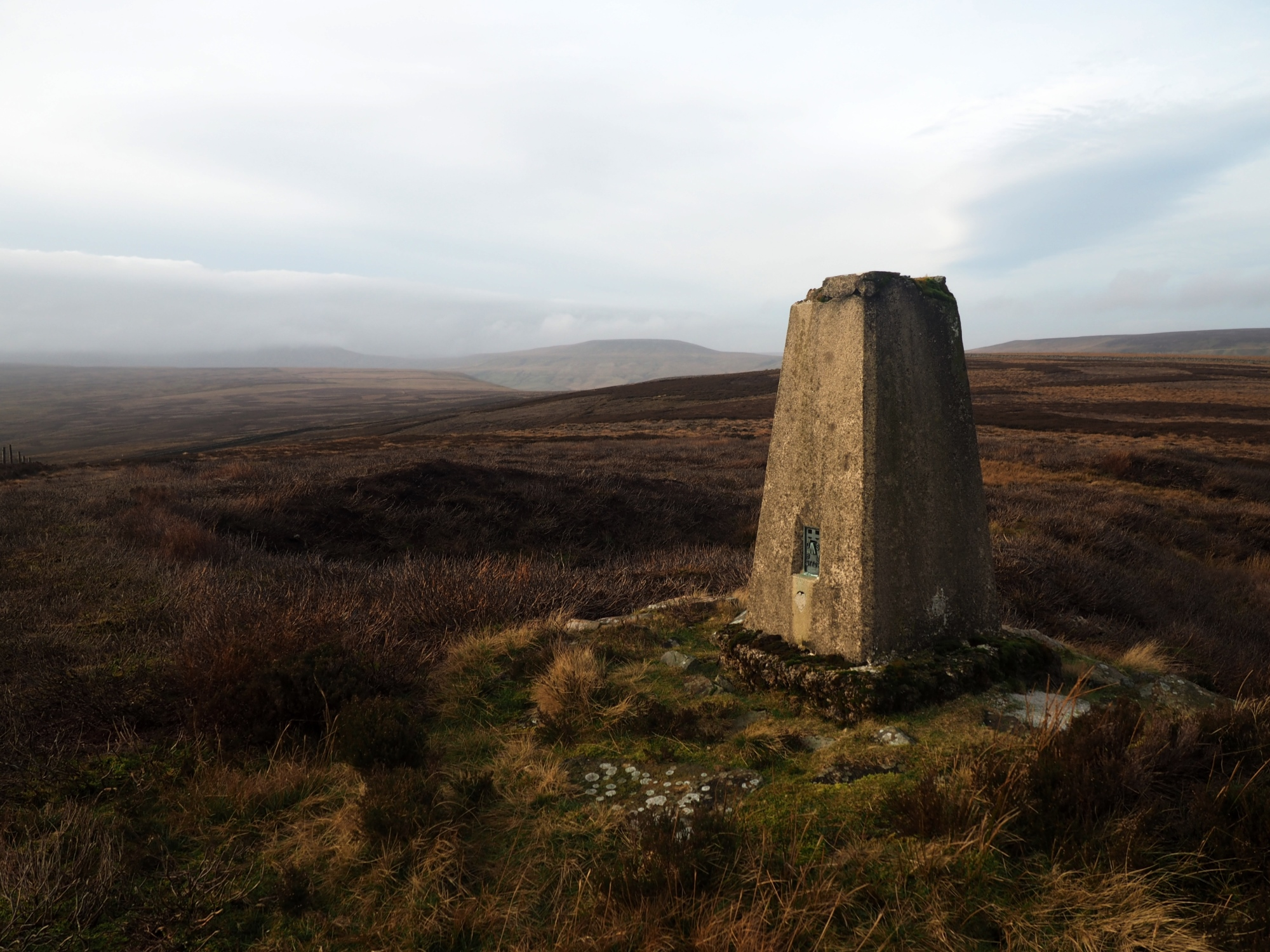 Rain Stang Hill Trig Point