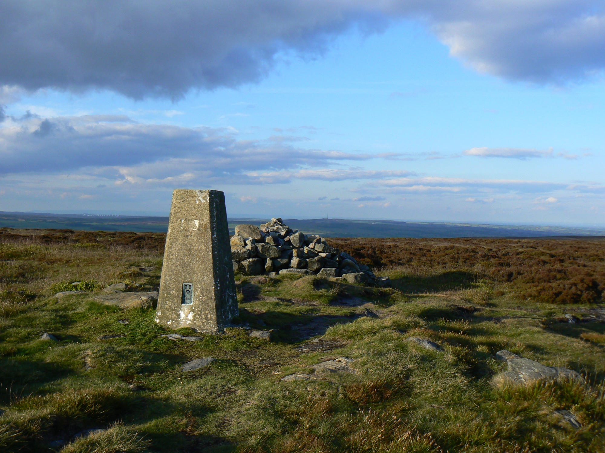 Rombalds Moor Trig Point