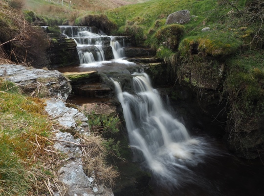 The waterfall upstream from Great Force which I named Rotting Force