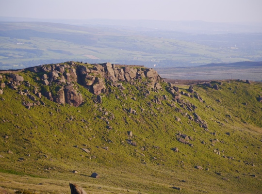 One of the finest sections of Rylstone Edge