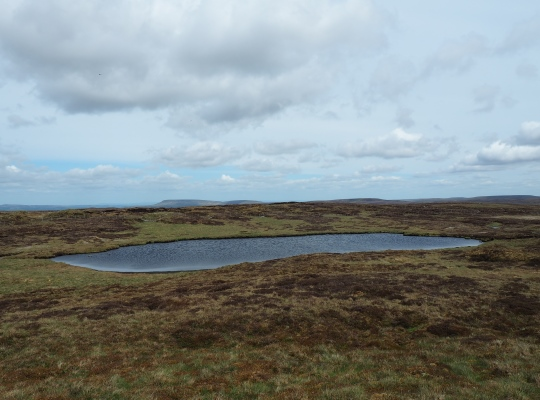 Approaching South Grain Tarn from the west