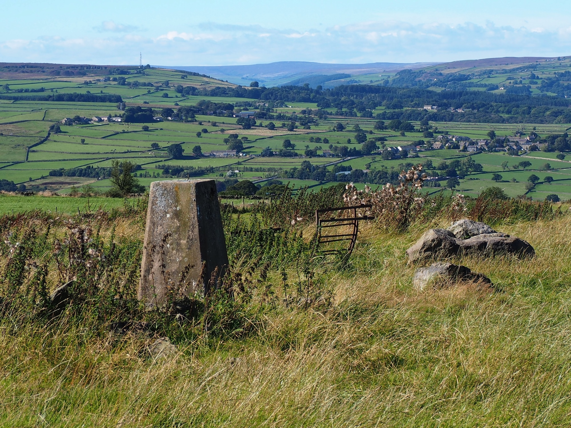 Stone Beds Trig Point