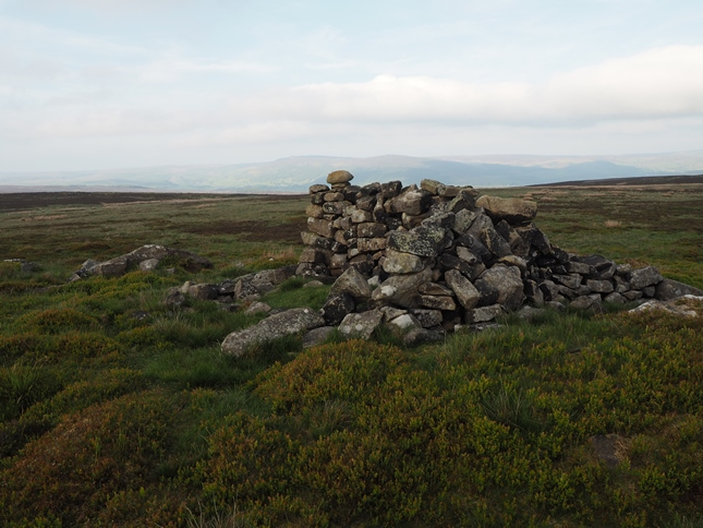 The cairn on Stone Ridge Plain
