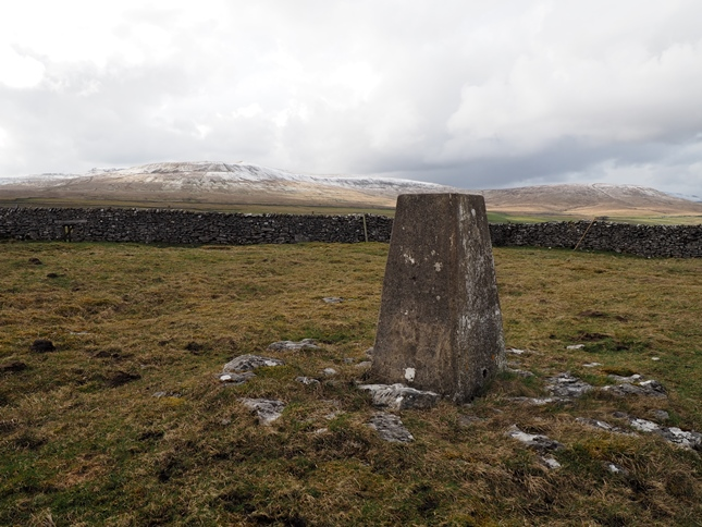 Simon Fell and Park Fell from the Sulber trig point