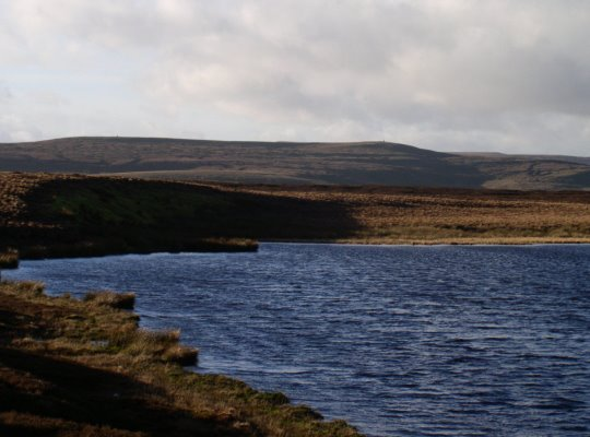 Summer Lodge Tarn looking west towards Oxnop Common