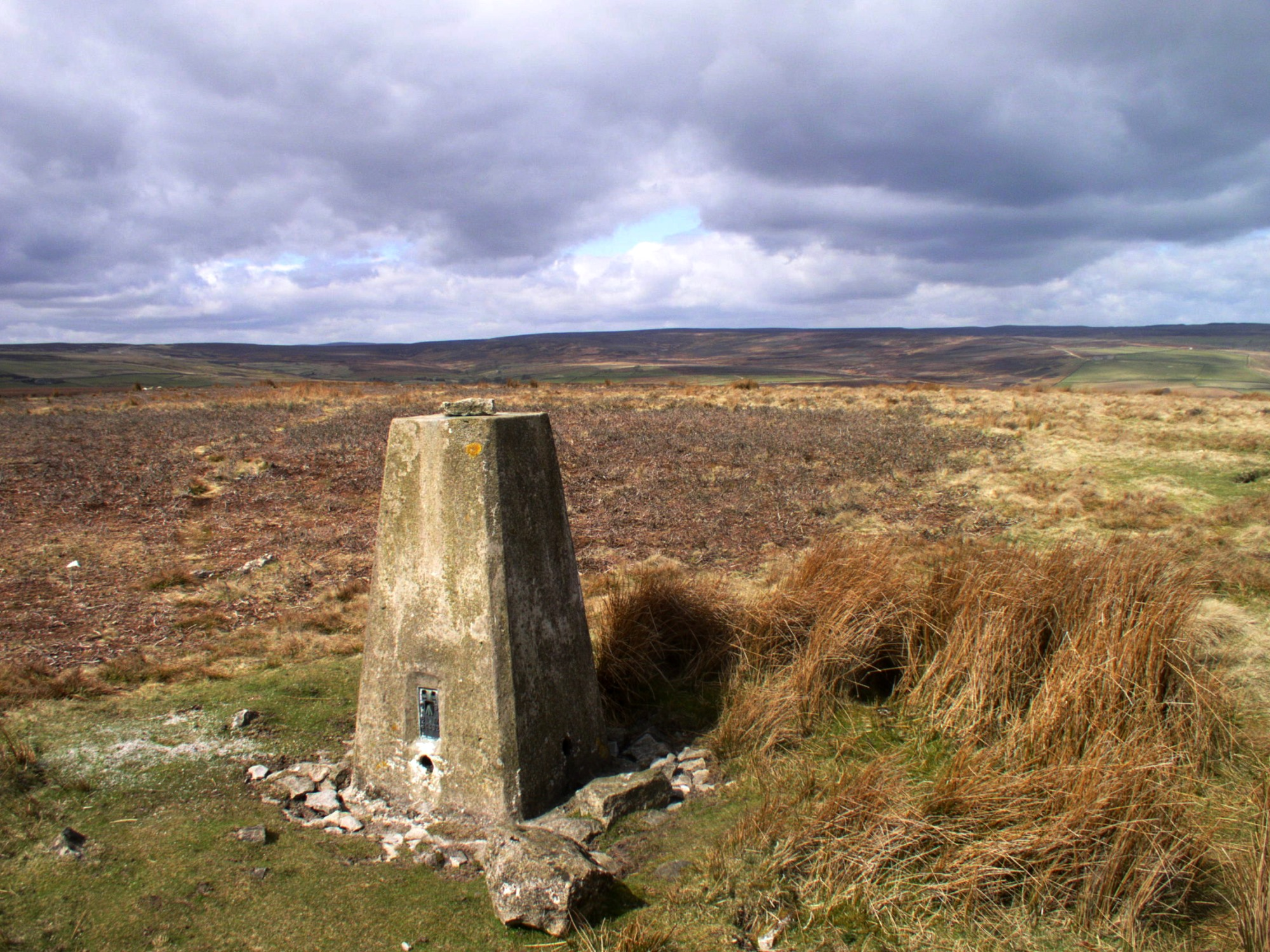 Telfit Moor Trig Point