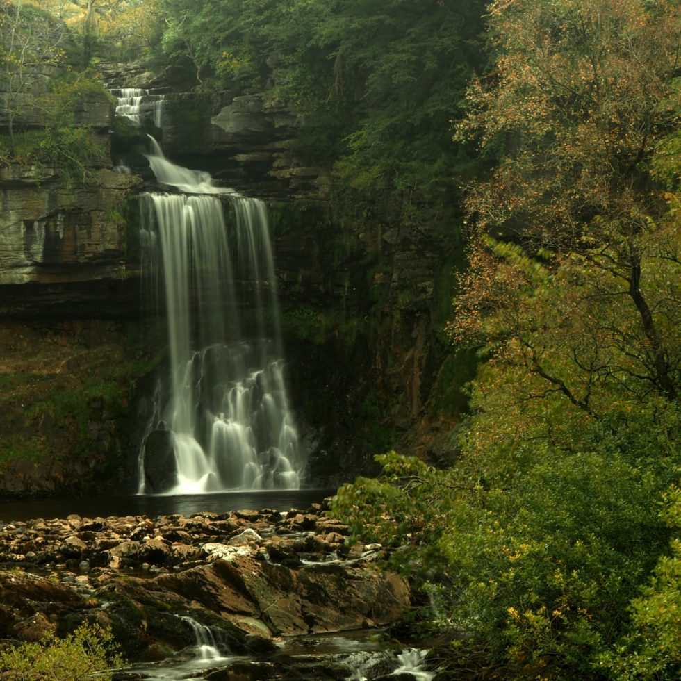 Thornton Force, one of the highlights of the Ingleton Waterfall Walk