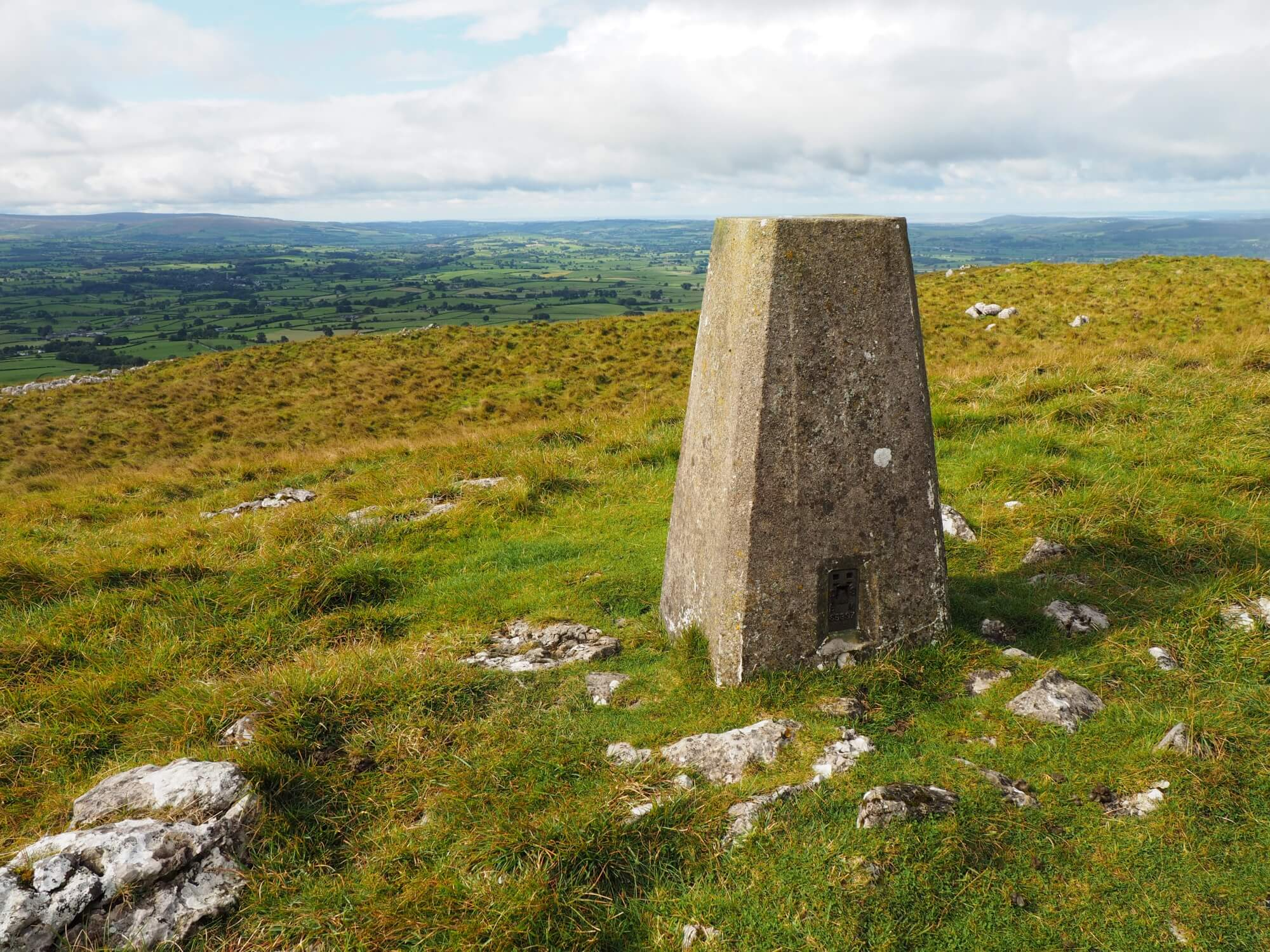 The Tow Scar Trig Point