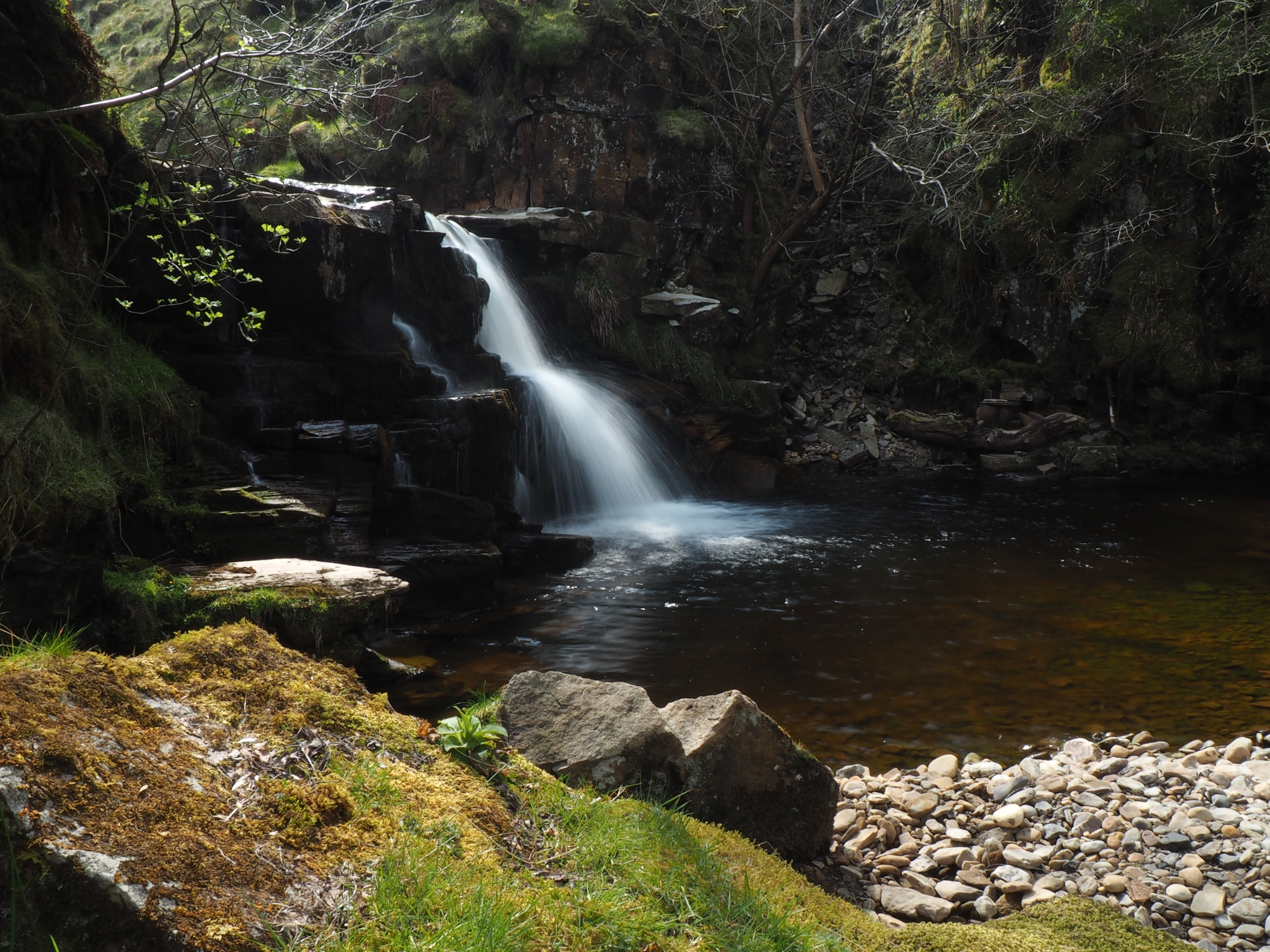 Waterfall in Uldale