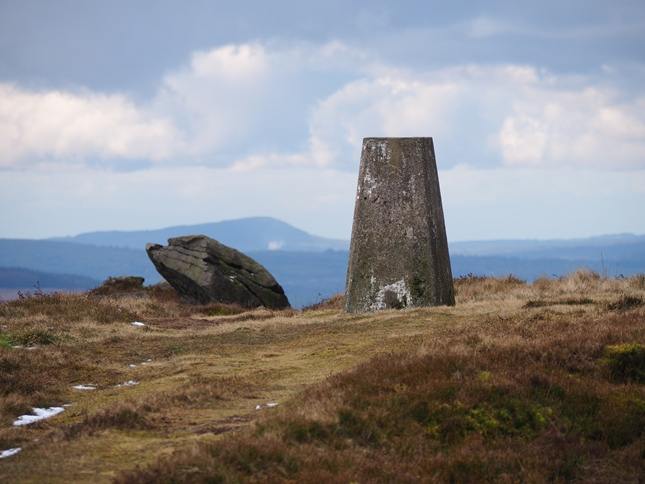 Longridge Fell from the Vicars Allotment trig point