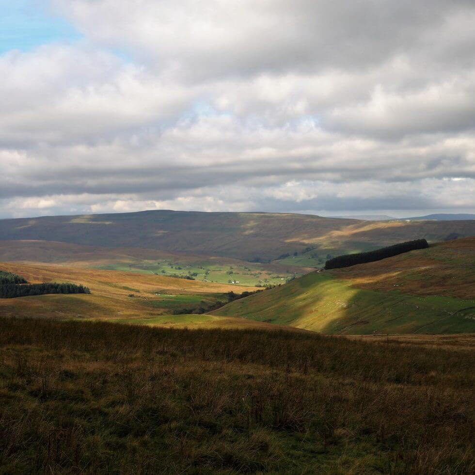 Cragdale and Raydale from the Pennine Journey route