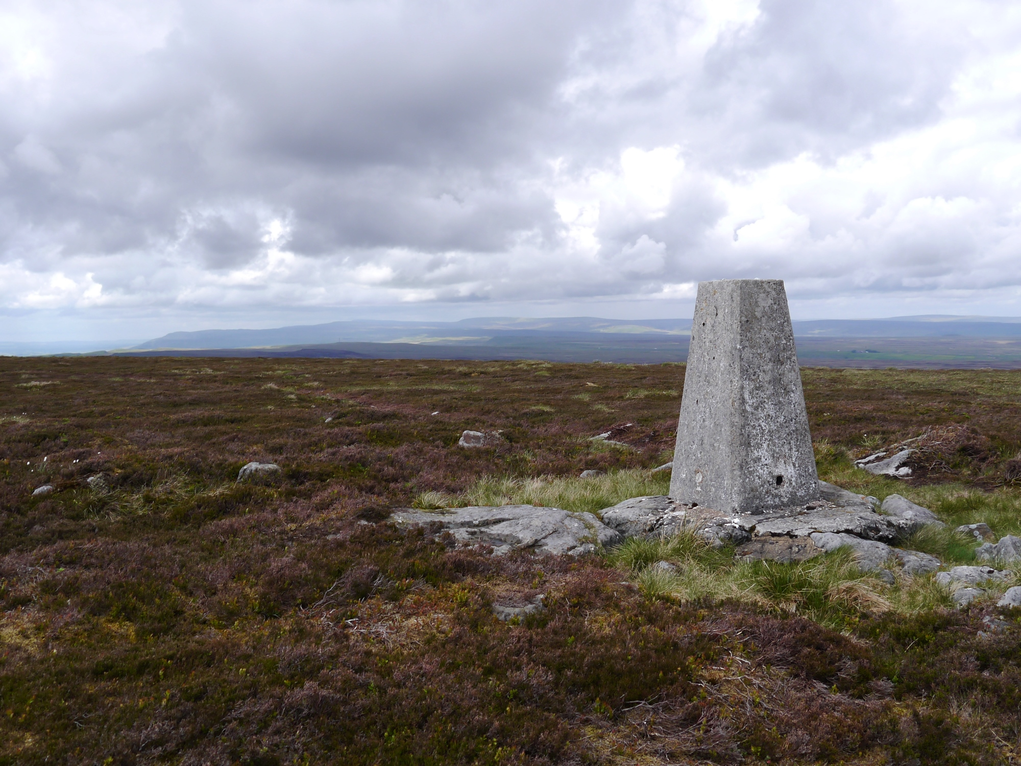 Water Crag trig point
