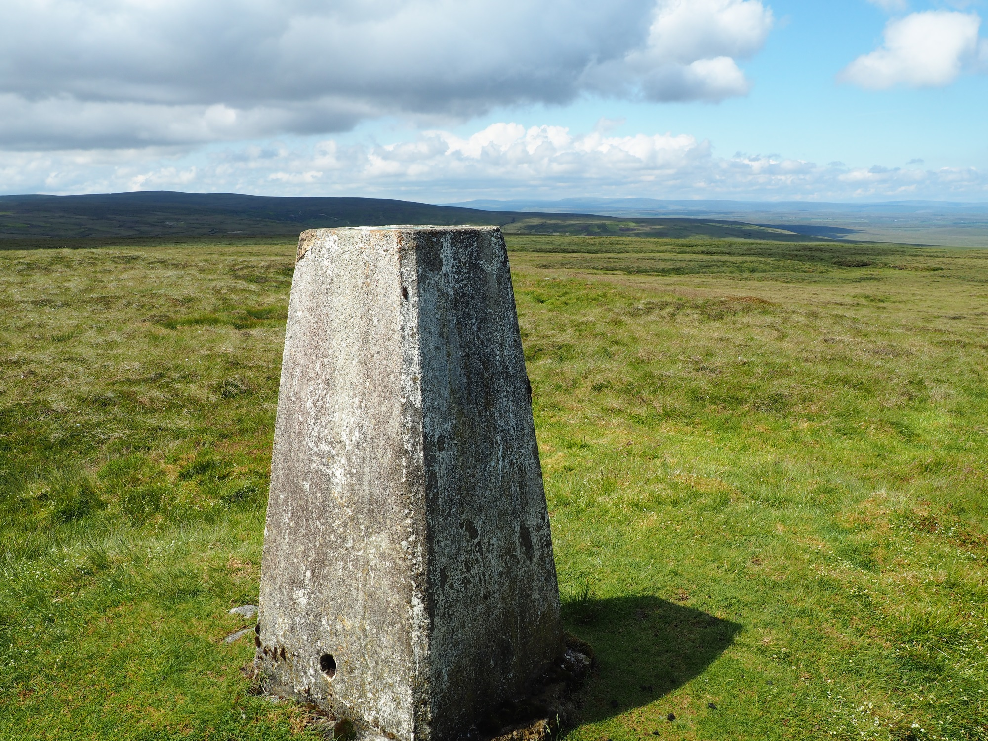 Whaw Moor Trig Point