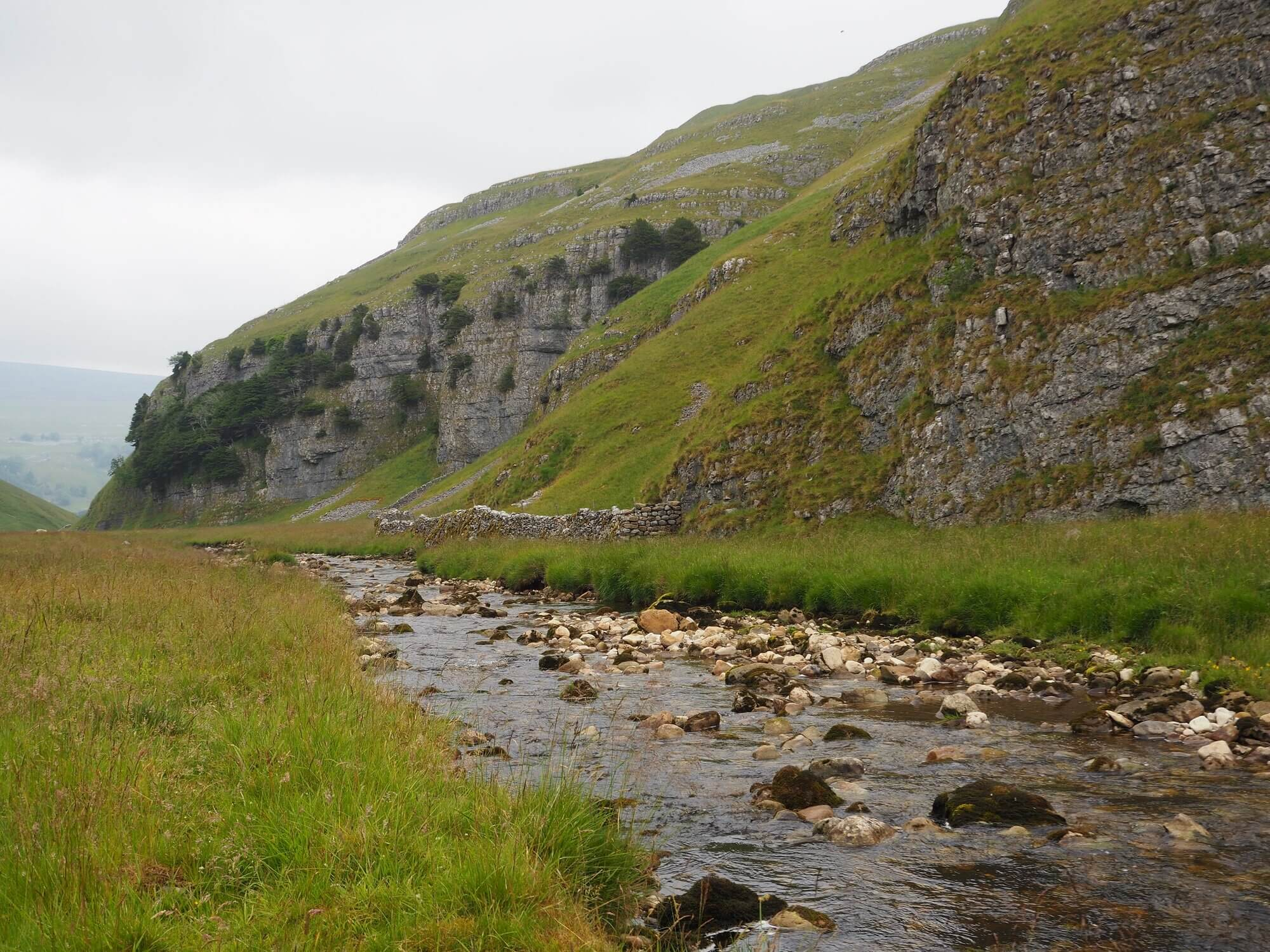Yew Cogar Scar and Cowside Beck