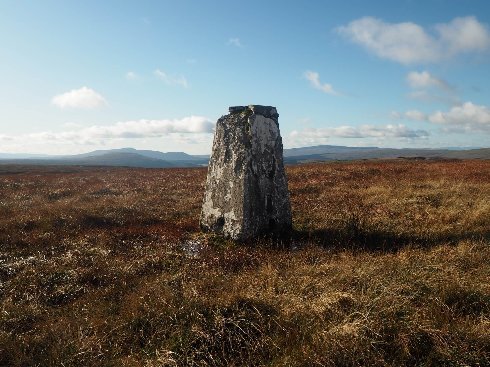The Yockenthwaite Moor trig point